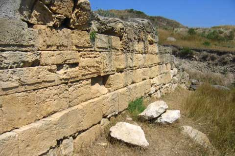 Античный город Нимфей.