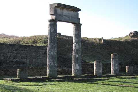 Античный город Пантикапей.