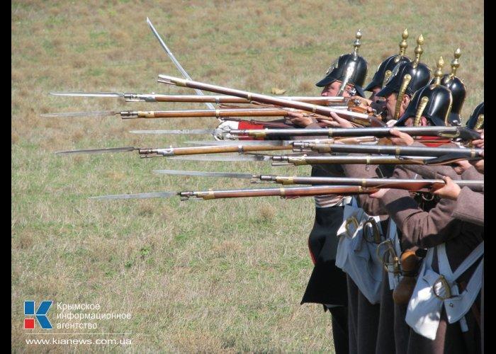В Вилино прошла реконструкция Альминского сражения.