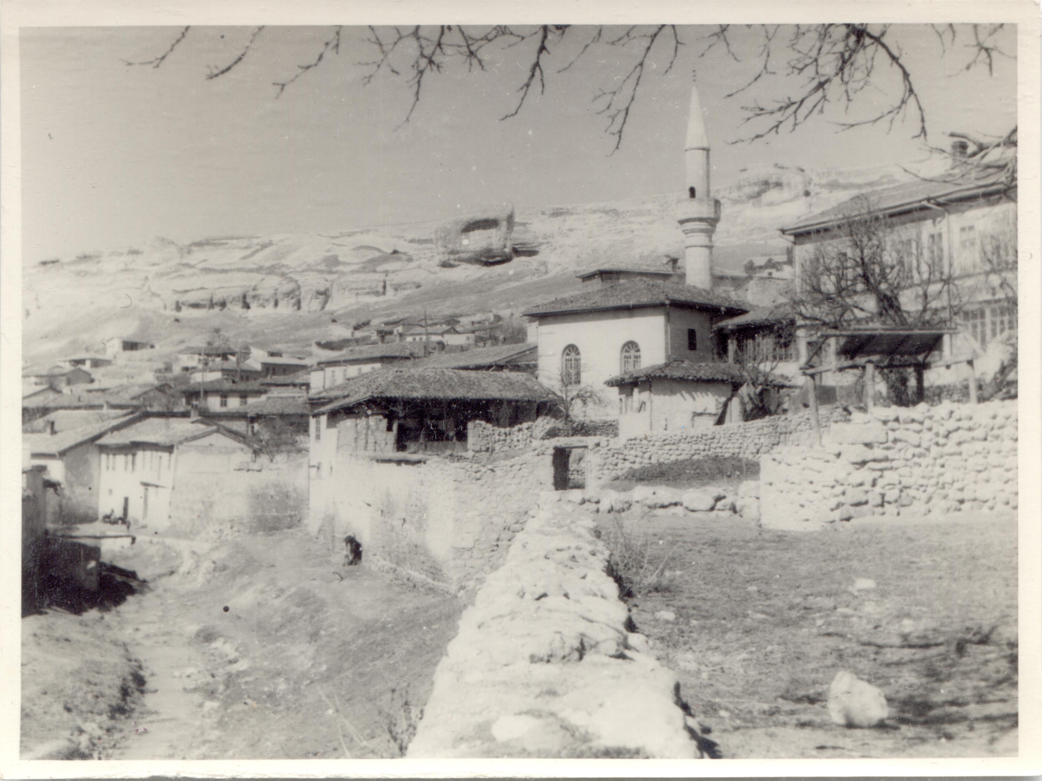 Бахчисарай времён Второй мировой войны.
