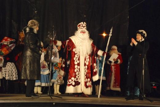 В Евпатории выбрали лучшего крымского Деда Мороза.
