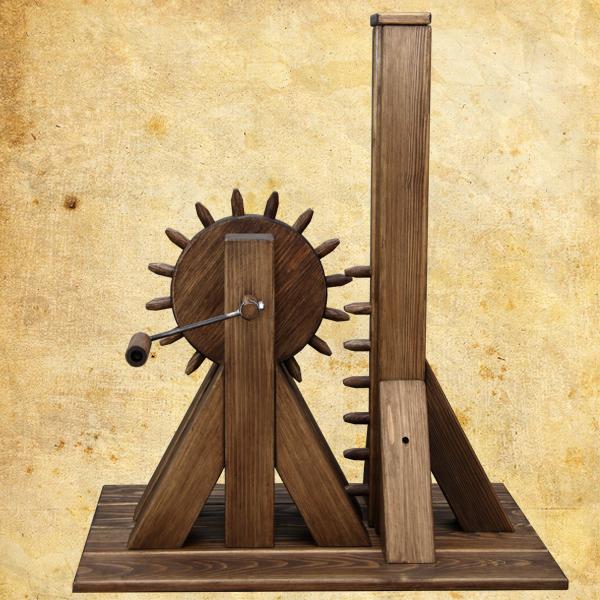 Открытие выставки «Механика Леонардо да Винчи».