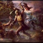 164. Битва у стана греков