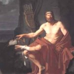 153. Плавание греков к берегам Трои. Филоктет
