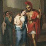 159. Гектор в Трое. Прощание Гектора с Андромахой
