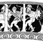 163. Одиссей и Диомед отправляются лазутчиками в стан троянцев. Кони Реса