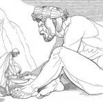 190. Одиссей на острове циклопов. Полифем