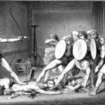 203. Одиссей избивает женихов