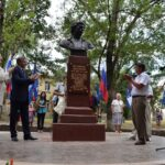 В Симферополе установили бюст Владимиру Высоцкому