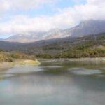 В водохранилище Алушты снизилось количество воды
