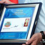 В Севастополе погасили раритетную марку
