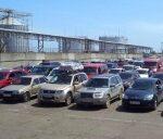 На накопительных площадках на переправе в Керчи разместят 1,8 тыс. автомобилей