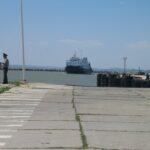 В порту «Кавказ» исчезла очередь машин в Крым
