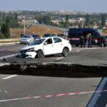 В Крыму есть еще одна трасса, на которой может обвалиться грунт