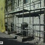 В Севастополе при реконструкции фасада вскрыли надписи начала ХХ века