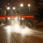 В Симферополе продолжают ремонтировать дороги