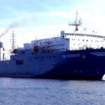 На линии Новороссийск-Севастополь начал регулярно ходить грузовой паром