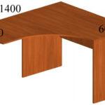 Стол письменный угловой У5П