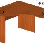 Стол письменный угловой У5Л