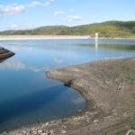 Объем воды в водохранилищах Крыма за неполный месяц снизился