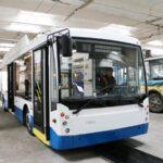 Москва подарила Севастополю новые троллейбусы