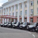 Полиция Крыма получила новые «Лады» и «Патриоты»