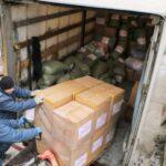 Из Севастополя отправили два грузовика гуманитарной помощи на Донбасс