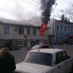 В Ялте загорелось управление полиции