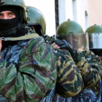 На рынке в Симферополе начали антитеррористические учения