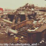 Застройщик сам уберет строительный мусор после сноса торгового центра на рынке Симферополя