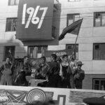 Фотоподборка: демонстрация в Симферополе 7 ноября 1967 года