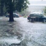 Сегодня в Симферополе пройдет ливень с градом