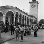 Фотоподборка: Железнодорожный вокзал г. Симферополя - конец 60-х