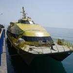 С сегодняшнего дня на маршруте Анапа – Феодосия начинает курсировать второй катамаран (ЦЕНЫ, РАСПИСАНИЕ)