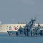 Учения Черноморского флота начались у берегов Крыма