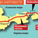 Из-за блэкаута Крым подключат к российскому току раньше намеченного срока