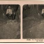 Сталактитовая пещера около дер. Скеля. Стереопара. Крым. 1910 год.