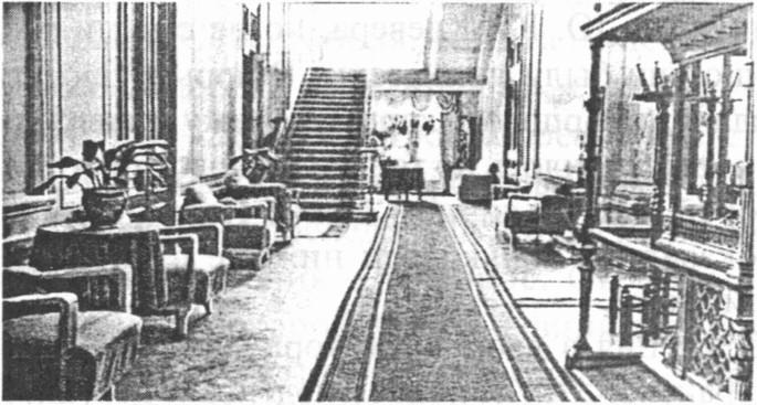 В дворцовом корпусе расположился госпиталь для легкораненых