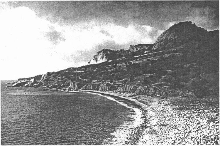 Так выглядел «горьковский пляж» до строительства здесь «Зари»