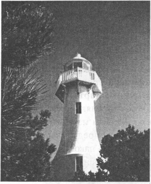 Форосский маяк имеет форму шахматной ладьи