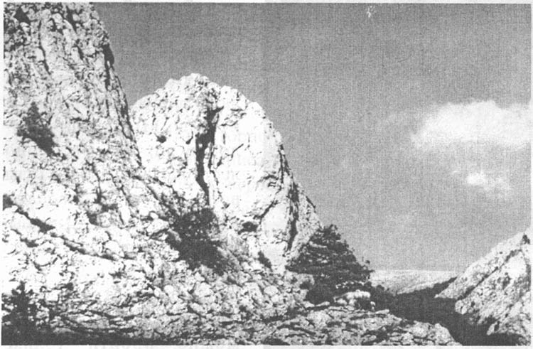 Вид, открывающийся с «Чертовой лестницы»