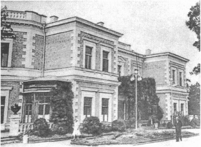 Корпус № 1. После землетрясения 1927 года