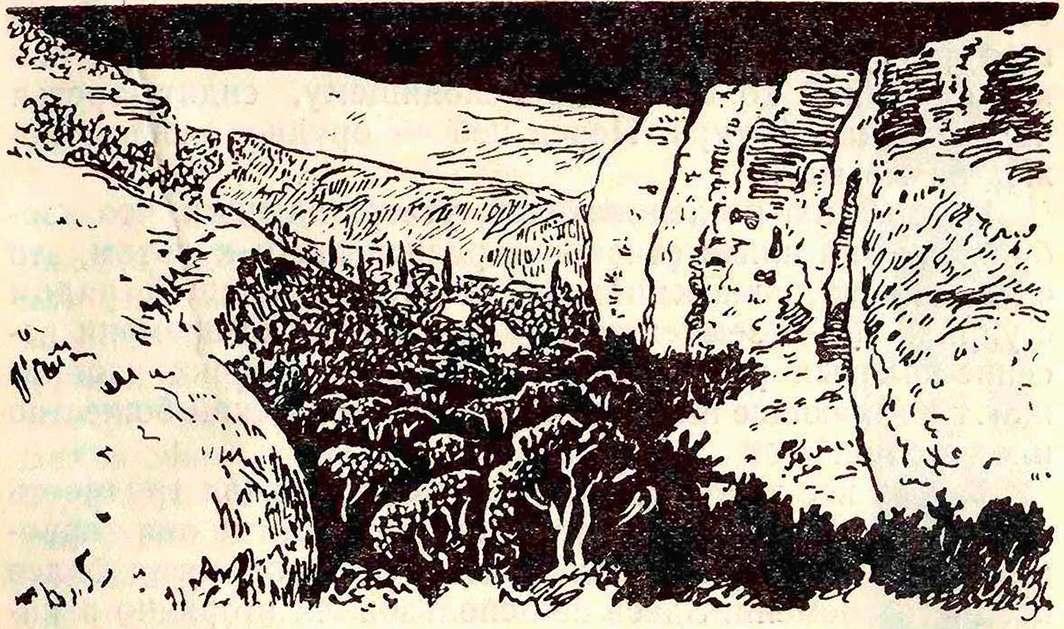 Урочище Таш-Аир. Скалы с рисунками III—II тысячелетия до н. э.