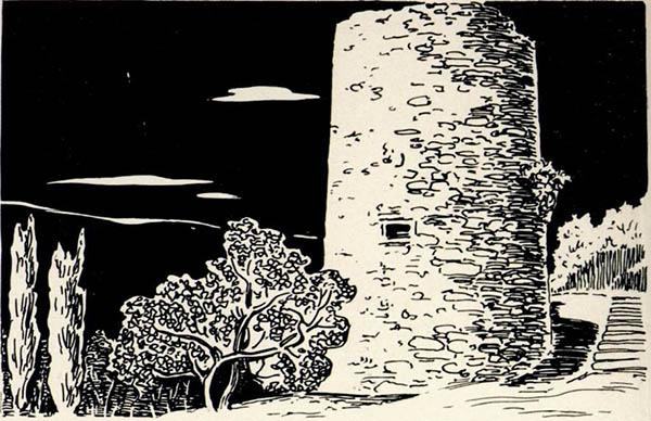 Средневековая башня в Алуште