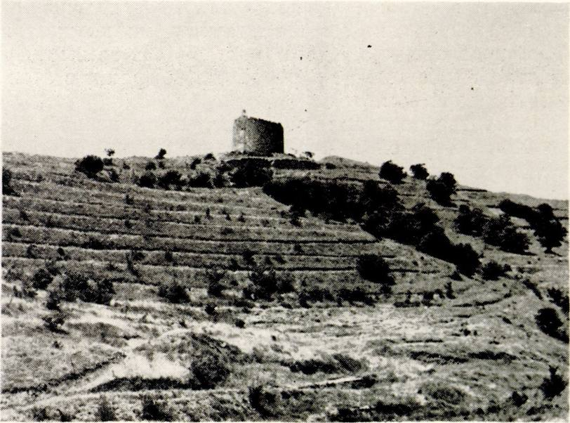 Башня Чобан-Куле (предполагаемый замок Гуаско в Тасили)