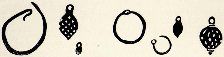 Серьги и пуговицы. Из раскопок Алуштинского могильника