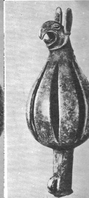 Навершие из Келермесского кургана. VI век до н. э.