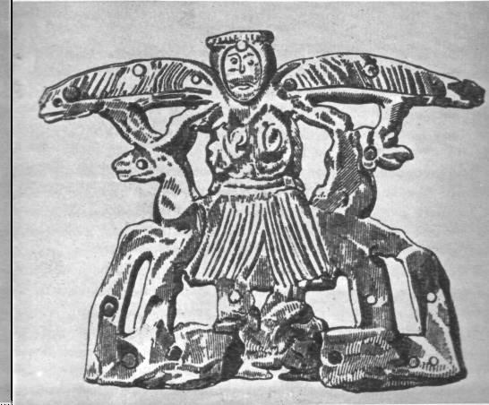 Крылатая богиня Александропольского кургана. IV в. до н. э.