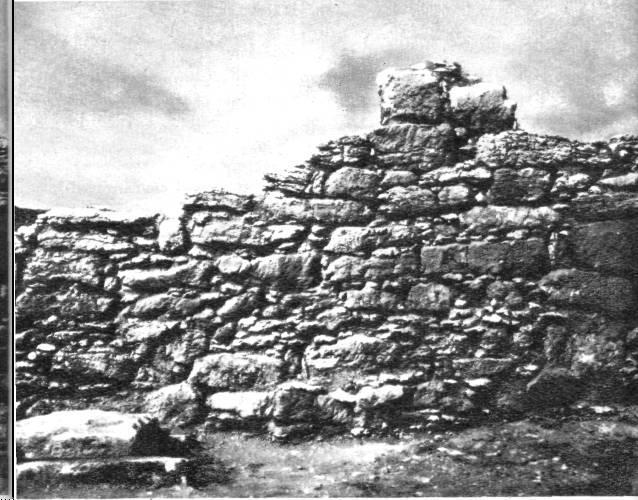 Оборонительная стена Неаполя Скифского