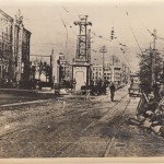 Симферополь. Фото со стороны нынешней площади Советской в сторону проспекта Победы